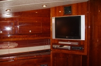 yacht charter living area