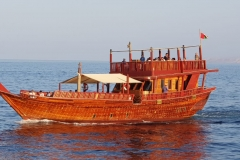 dhow cruise in oman